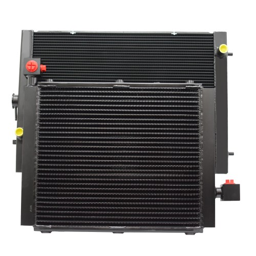 Industrial Fuel Coolers : Re conditioning of industrial oil coolers water radiators